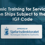 Basic Training for Service on Ships Subject to the IGF Code